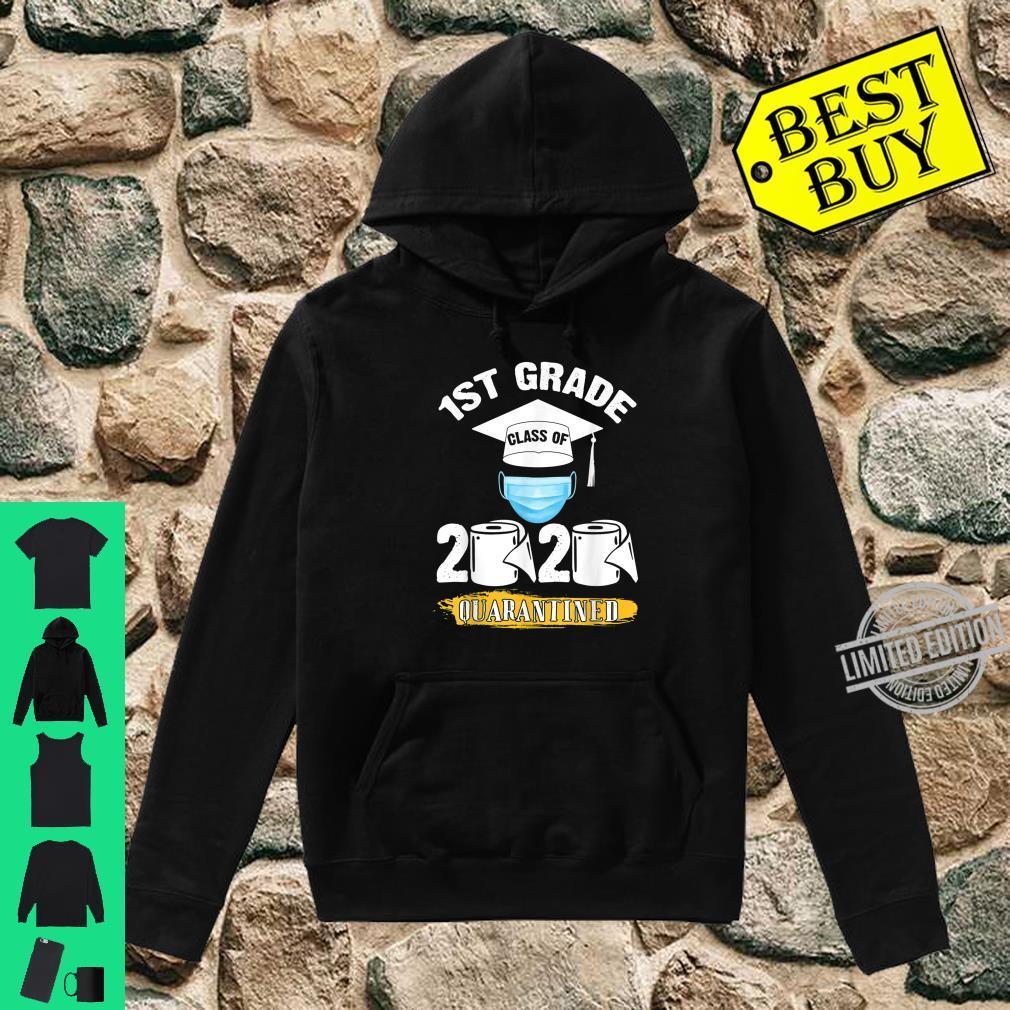 1st Grade Class of 2020 Quarantined Graduate Shirt hoodie
