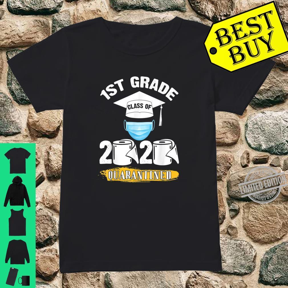 1st Grade Class of 2020 Quarantined Graduate Shirt ladies tee
