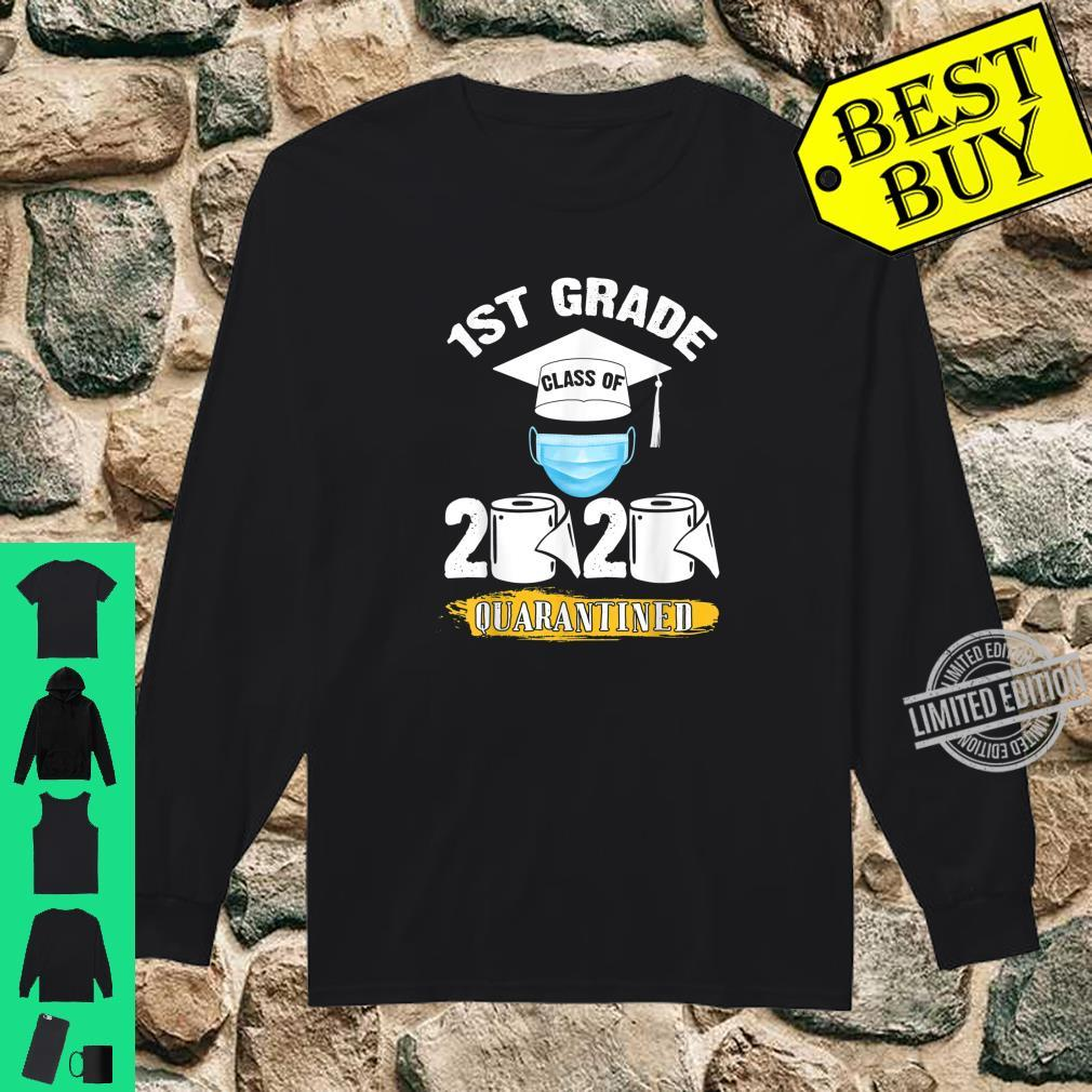 1st Grade Class of 2020 Quarantined Graduate Shirt long sleeved