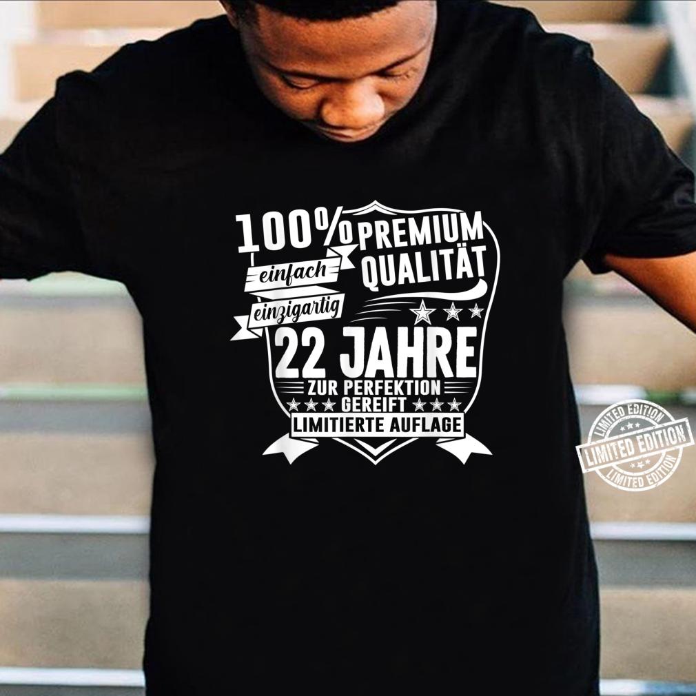 22. Geburtstag 22 Jahre Vintage Retro Jahrgang 1998 Geschenk Shirt