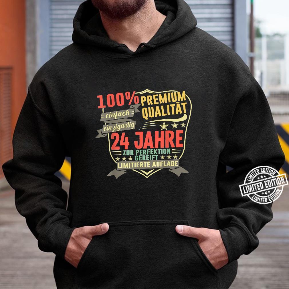 24. Geburtstag 24 Jahre Vintage Retro Jahrgang 1996 Geschenk Shirt hoodie
