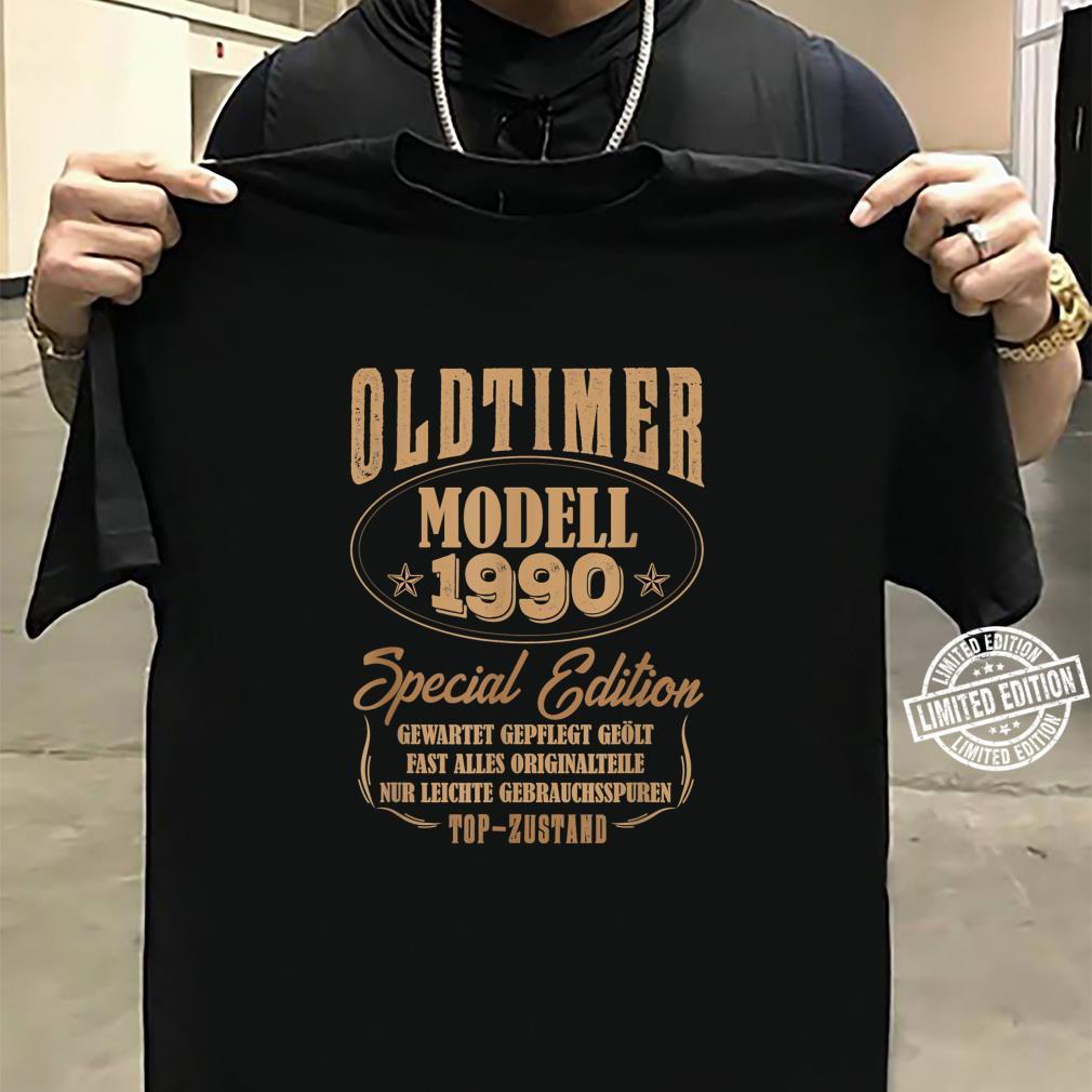 30 Mann Oldtimer Modell Juli 1990 30Ter 30. Geburtstag Shirt sweater