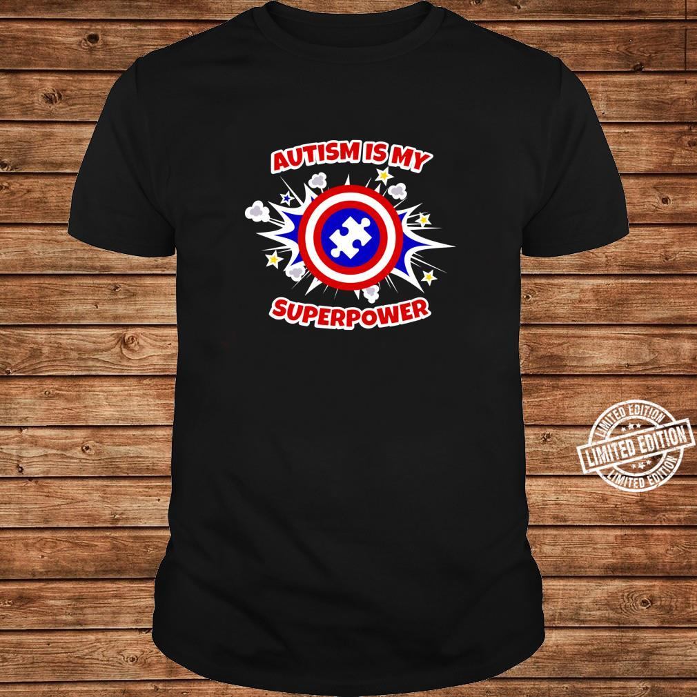 Autism Is My Superpower Autistic Shirt ladies tee
