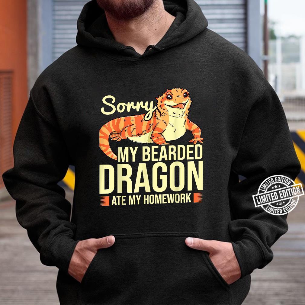 Bearded Dragon Reptile Shirt hoodie