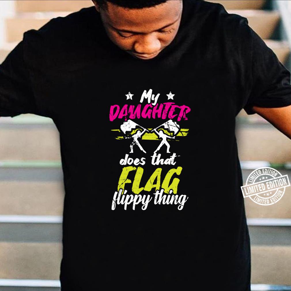Color Guard Geschenke Tochter macht diese flippige Sache Langarmshirt Shirt