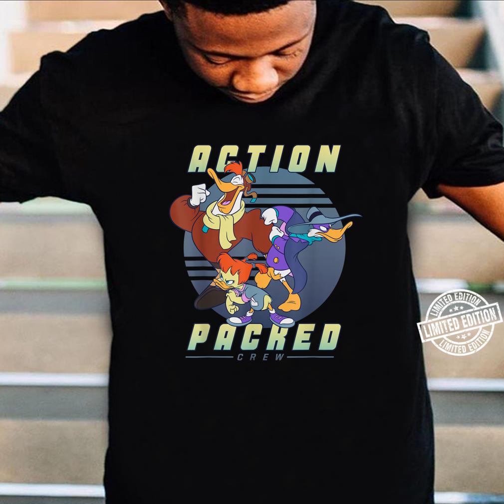 Disney Darkwing Duck Action Packed Crew Shirt