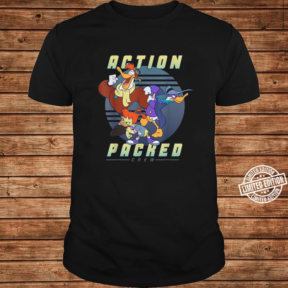 Disney Darkwing Duck Action Packed Crew Shirt long sleeved
