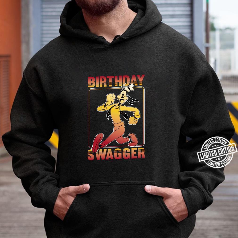Disney Goofy Birthday Swagger Langarmshirt Shirt hoodie