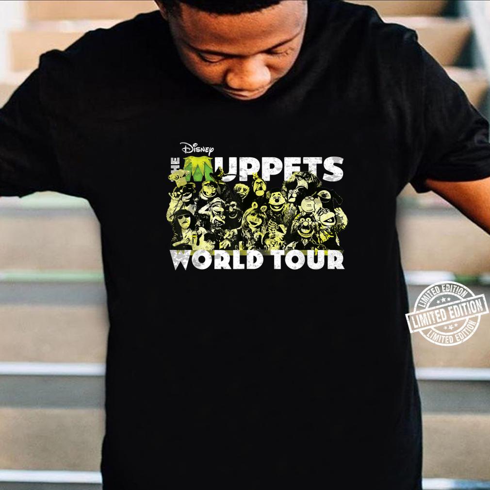 Disney The Muppets World Tour Concert Shirt