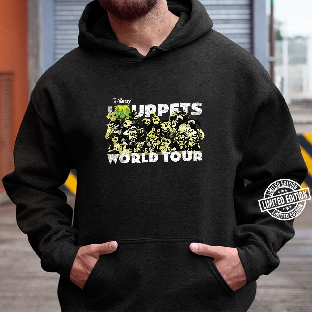 Disney The Muppets World Tour Concert Shirt hoodie