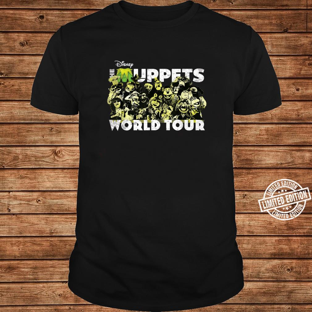 Disney The Muppets World Tour Concert Shirt long sleeved