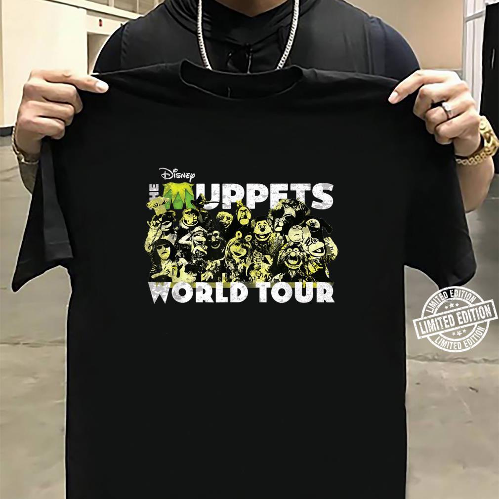 Disney The Muppets World Tour Concert Shirt sweater