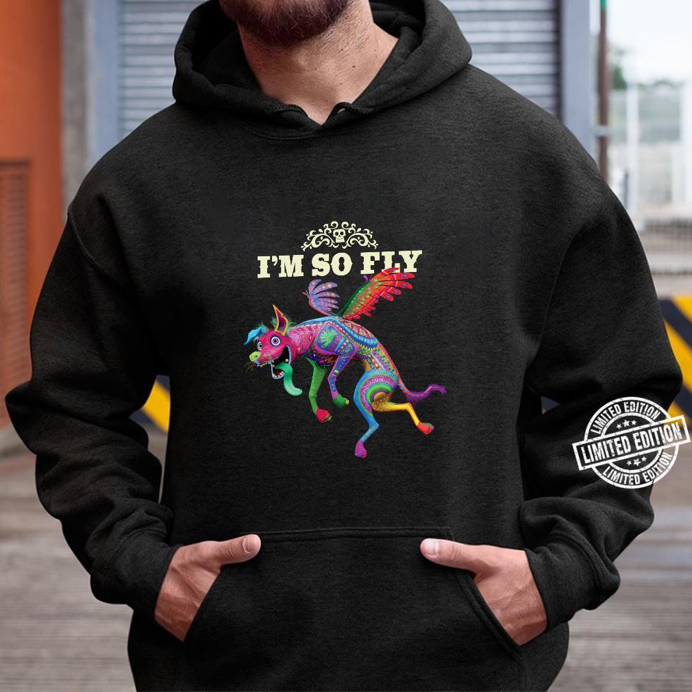 Disney and Pixar's Coco Dante I'm So Fly Langarmshirt Shirt hoodie