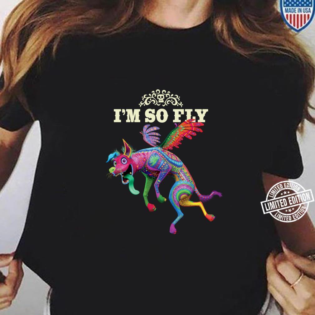 Disney and Pixar's Coco Dante I'm So Fly Langarmshirt Shirt ladies tee