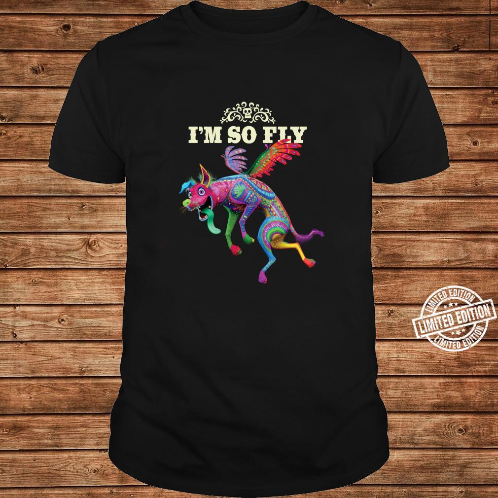 Disney and Pixar's Coco Dante I'm So Fly Langarmshirt Shirt long sleeved