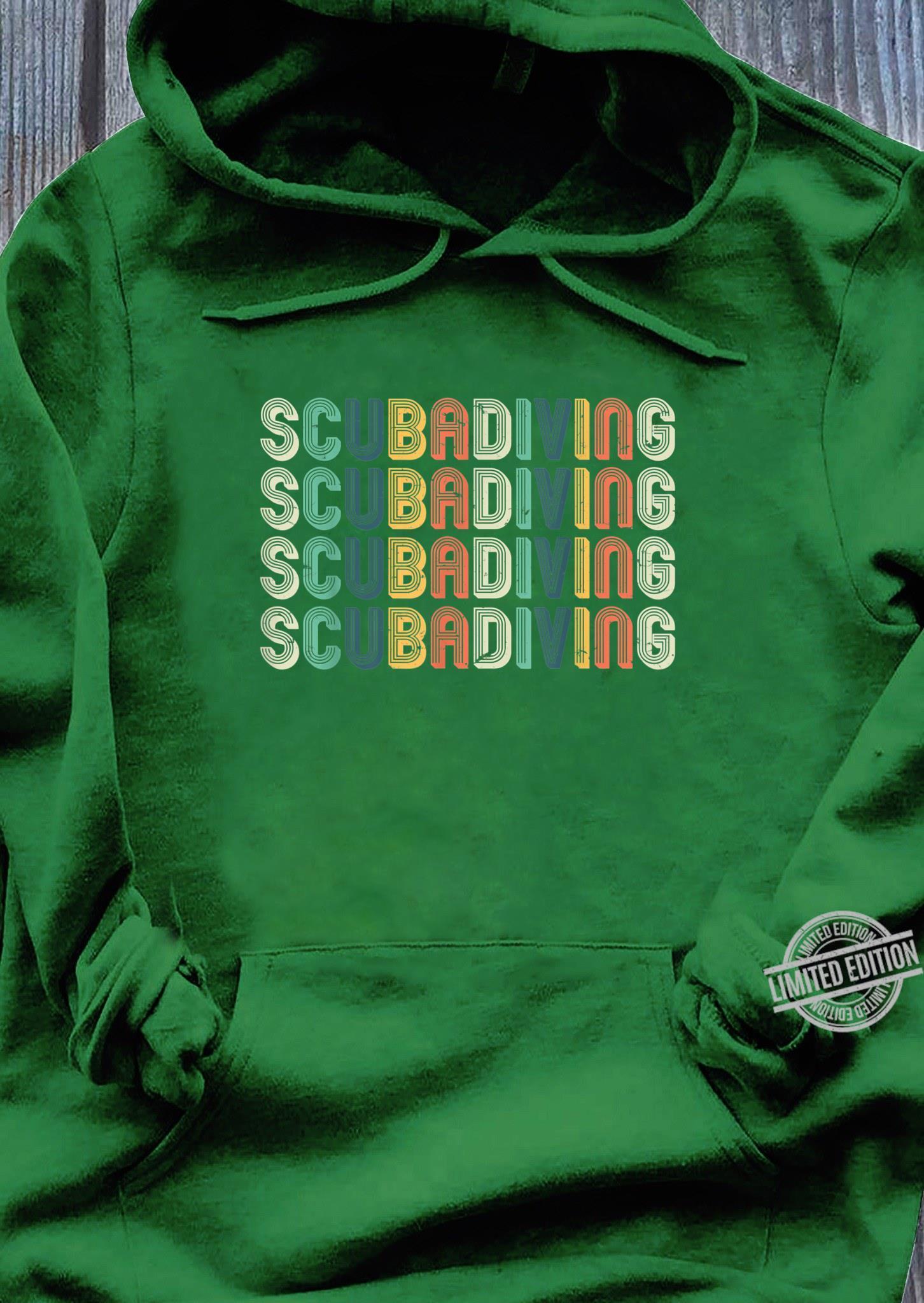 Taucher Shirt Herren Tauchen Taucherin Geschenk Scubadiving Shirt hoodie