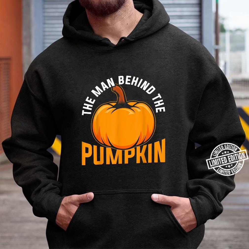 The Man Behind The Pumpkin Halloween Shirt hoodie
